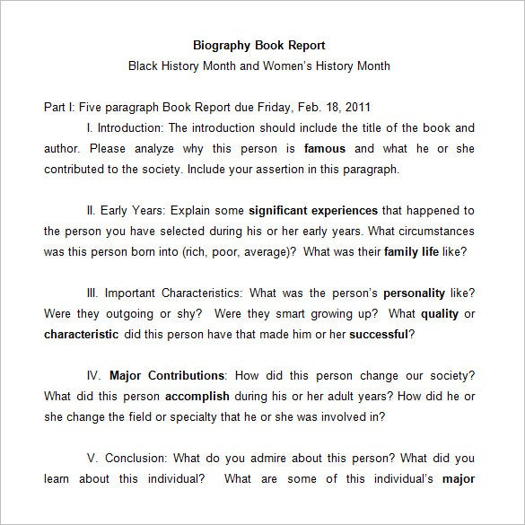 11+ Middle School Book Report Templates & Samples - DOC, PDF  Free  Inside Middle School Book Report Template