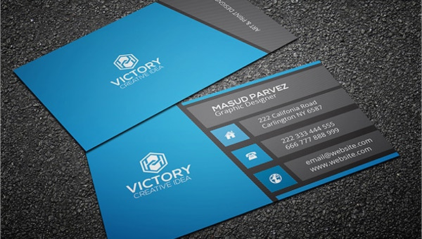11+ Modern Business Card Templates - Word, PSD, AI, Apple Pages  Pertaining To Designer Visiting Cards Templates Within Designer Visiting Cards Templates