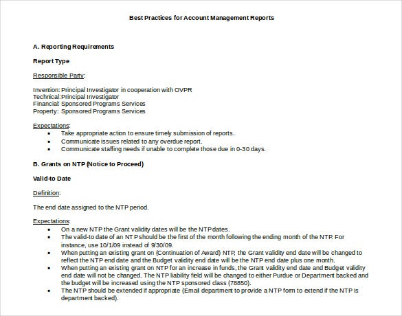 11+ Monthly Management Report Templates in PDF  Google Docs  With Regard To It Management Report Template Regarding It Management Report Template