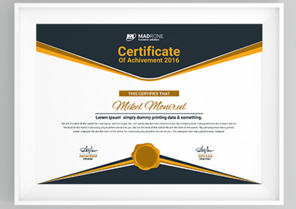 11 Multipurpose Certificate Templates and Award Designs For  Inside High Resolution Certificate Template Pertaining To High Resolution Certificate Template