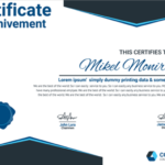 11 Multipurpose Certificate Templates and Award Designs For  Intended For High Resolution Certificate Template