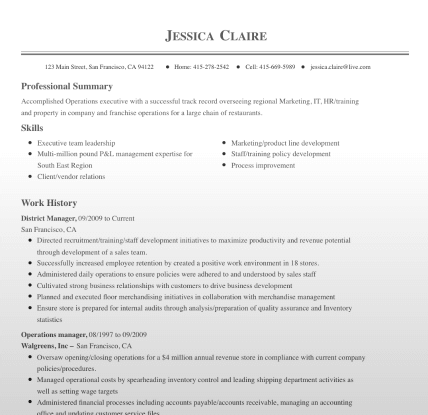 11 of the Best Resume Templates for Microsoft Word Office  LiveCareer Intended For Microsoft Word Resumes Templates With Regard To Microsoft Word Resumes Templates