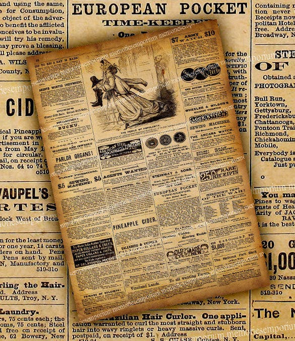 11+ Old Newspaper Templates - Free Sample, Example, Format  For Blank Old Newspaper Template Inside Blank Old Newspaper Template