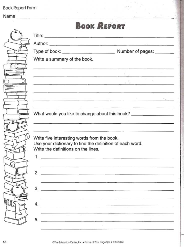 11 Paragraph Book Report : Definition Inside 6th Grade Book Report Template With 6th Grade Book Report Template