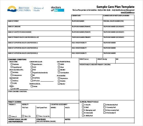 11+ Patient Care Plan Templates - PDF, Docs  Free & Premium Templates Regarding Patient Care Report Template Regarding Patient Care Report Template