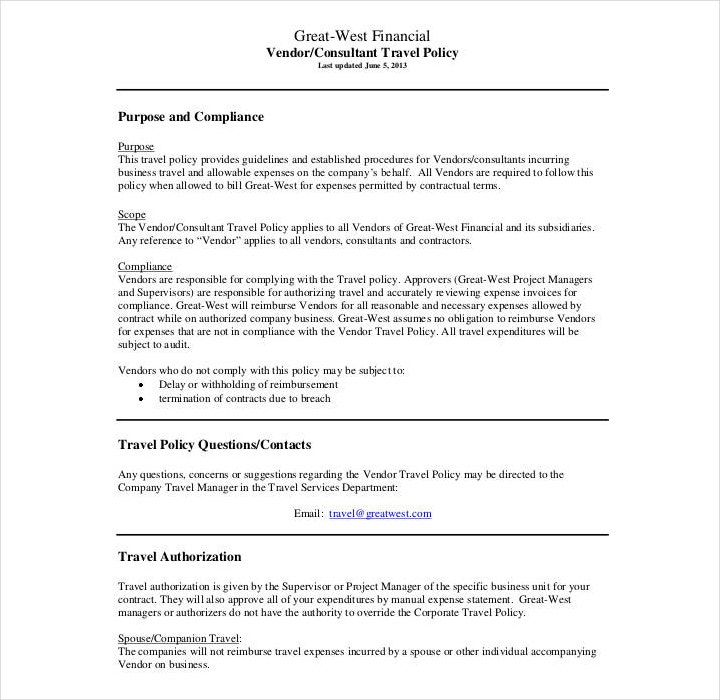 11+ Policy Template Samples - Free PDF, Word Format Download  Intended For Company Credit Card Policy Template With Regard To Company Credit Card Policy Template