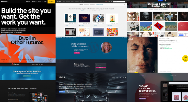 11 portfolio websites to show off your design work  Inside Design  Throughout 10 Causes To Use A Web Site Template For Your Enterprise Web Site Inside 10 Causes To Use A Web Site Template For Your Enterprise Web Site