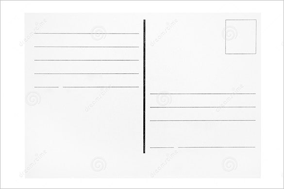 11+ Postcard Templates - Word, Excel, PDF, PSD, Publisher  Pertaining To Free Blank Postcard Template For Word In Free Blank Postcard Template For Word