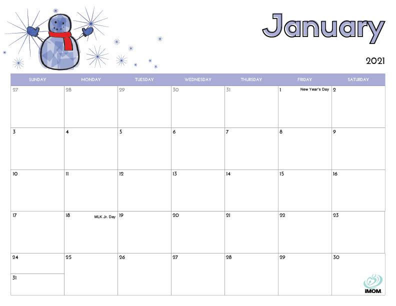 11 Printable Calendars for Kids - iMom Intended For Blank Calendar Template For Kids For Blank Calendar Template For Kids
