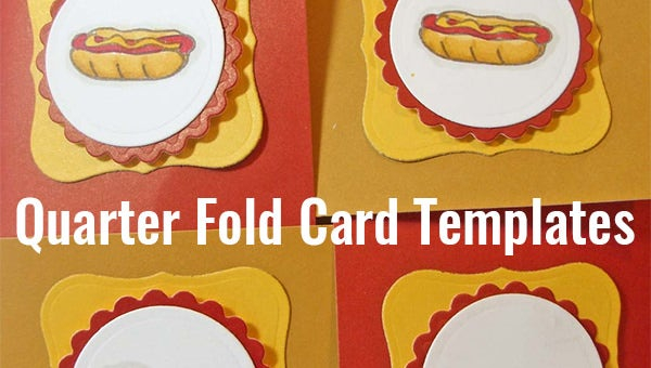 11+ Quarter Fold Card Templates - PSD, DOC  Free & Premium Templates Intended For Quarter Fold Birthday Card Template Regarding Quarter Fold Birthday Card Template
