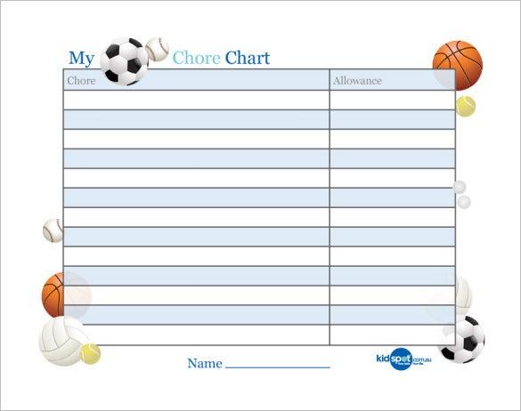 11+ Reward Chart Templates - DOC, PDF, Excel  Free & Premium  For Reward Chart Template Word Intended For Reward Chart Template Word