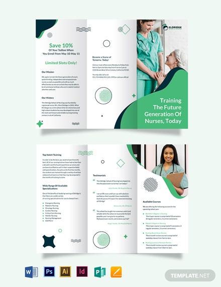 11+ School Brochure PSD Templates & Designs  Free & Premium Templates In Brochure Templates For School Project With Brochure Templates For School Project