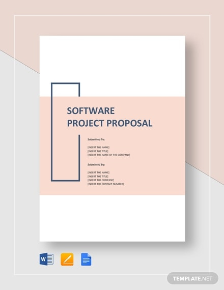 11+ Software Project Proposal Templates - MS Word, Google Docs  Inside Software Project Proposal Template Word Pertaining To Software Project Proposal Template Word