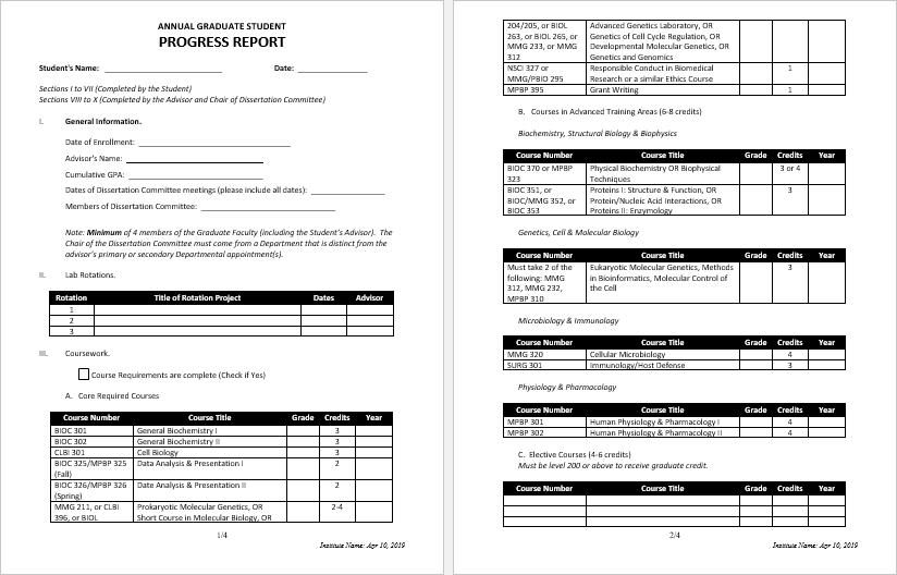 11 Student Report Templates in MS Word  Office Templates Online With Student Progress Report Template With Regard To Student Progress Report Template