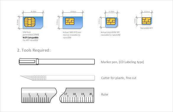 11 The Best Sim Card Cut Template Pdf For Free by Sim Card Cut  Regarding Sim Card Cutter Template Within Sim Card Cutter Template