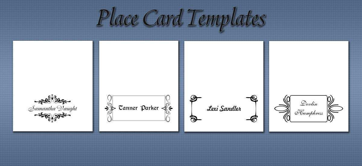 11 The Best Small Tent Card Template 11 Per Sheet With Stunning  With Place Card Template 6 Per Sheet Pertaining To Place Card Template 6 Per Sheet