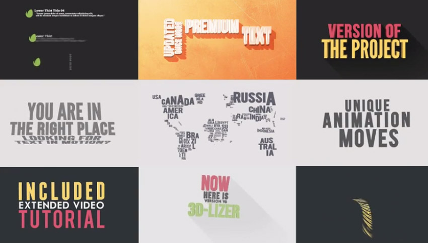 11 Top Typography Animation Templates to Make Kinetic Text in  Intended For Powerpoint Kinetic Typography Template In Powerpoint Kinetic Typography Template