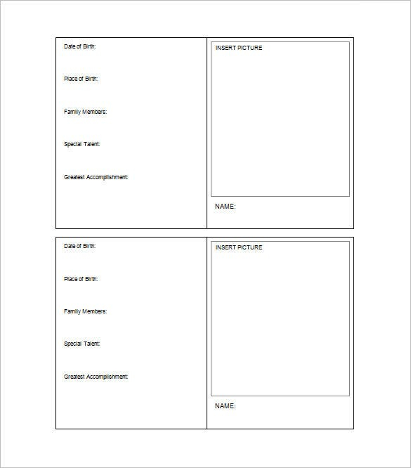 11+ Trading Card Template - Word, PDF, PSD, EPS  Free & Premium  For Baseball Card Size Template Regarding Baseball Card Size Template