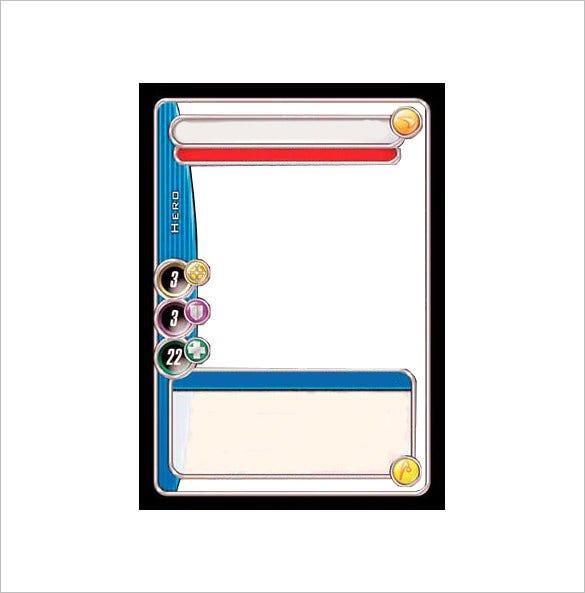 11+ Trading Card Templates  Free & Premium Templates Regarding Trading Cards Templates Free Download Within Trading Cards Templates Free Download