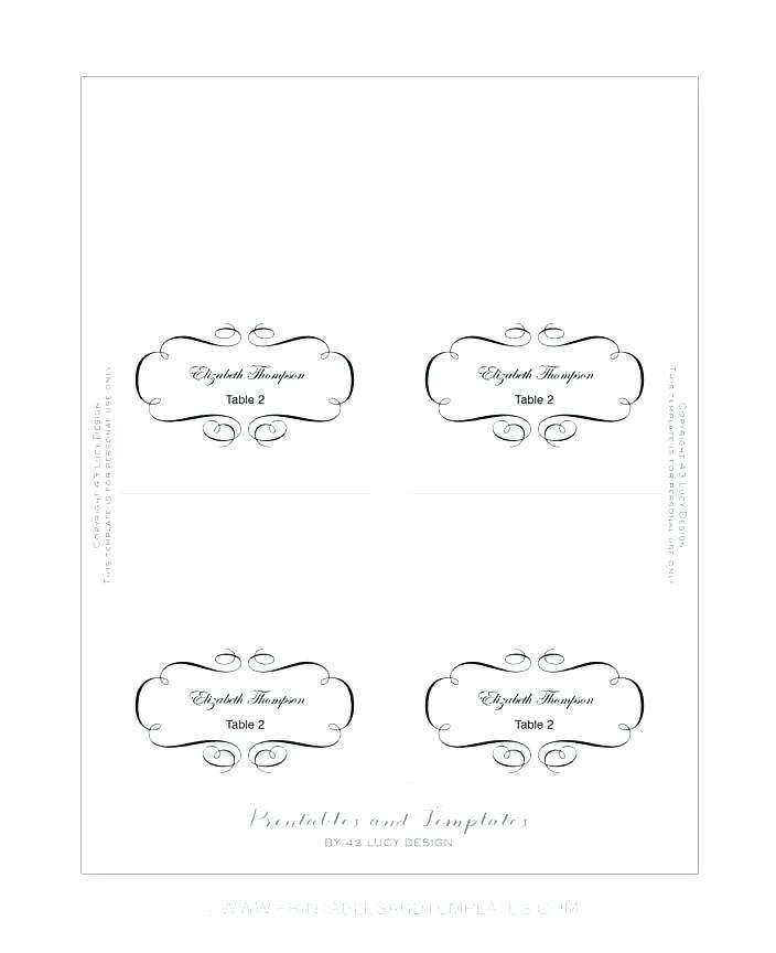 11 Visiting Microsoft Word Place Card Template 11 Per Page by  Throughout Place Card Template 6 Per Sheet Regarding Place Card Template 6 Per Sheet