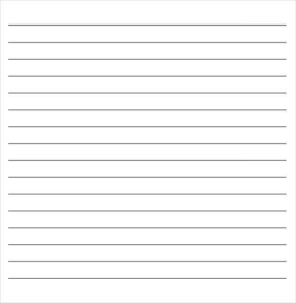 11+ Word Lined paper Templates  Free & Premium Templates Inside Notebook Paper Template For Word 2010 Inside Notebook Paper Template For Word 2010