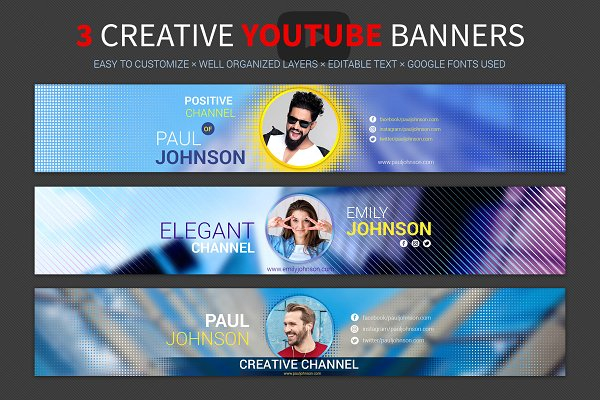 11+ Youtube Channel Art Template PSD For Designing the Perfect  In Youtube Banner Template Gimp Regarding Youtube Banner Template Gimp