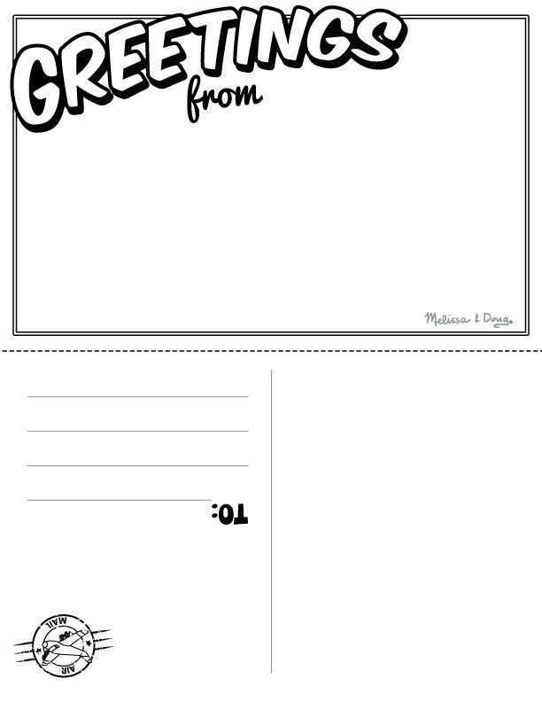 1111 Blank Postcard Template Ks11 for Ms Word by Postcard Template  In Free Blank Postcard Template For Word Within Free Blank Postcard Template For Word