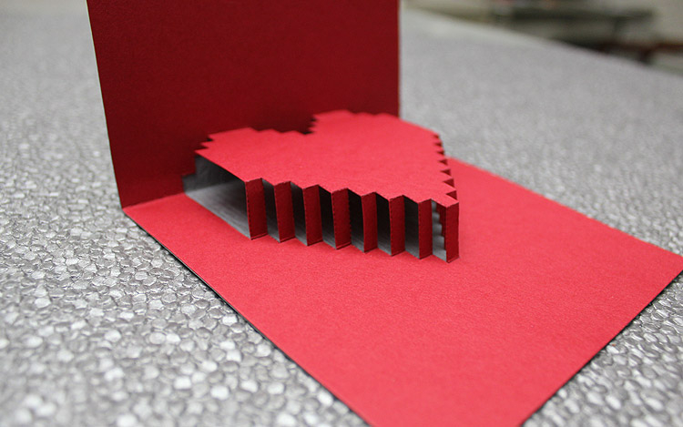 11D Heart Valentine