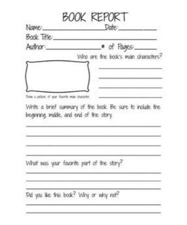 11nd Grade Book Report Template PDF – Scouting Web Pertaining To Book Report Template 2nd Grade Inside Book Report Template 2nd Grade