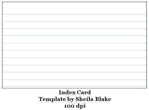 11X11 Index Card Template Excel - Cards Design Templates With Regard To 4x6 Note Card Template Inside 4x6 Note Card Template