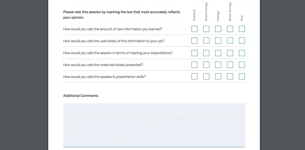 A Complete Guide to Event Evaluations - Eventbrite UK Intended For Event Debrief Report Template With Event Debrief Report Template