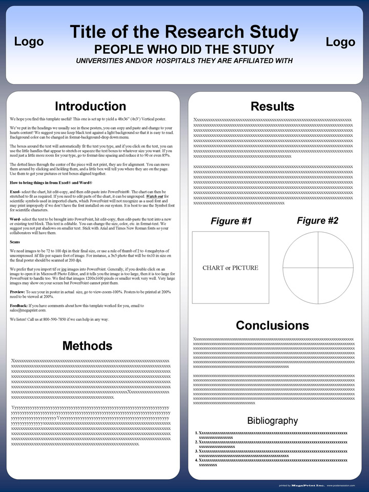A11 Powerpoint Poster Template  The highest quality PowerPoint  Throughout Powerpoint Poster Template A0 Intended For Powerpoint Poster Template A0