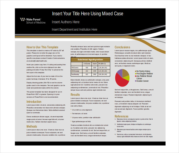 A11 Powerpoint Poster Template  The highest quality PowerPoint  Throughout Powerpoint Poster Template A0 Regarding Powerpoint Poster Template A0