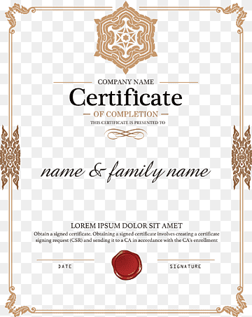 Academic certificate Diploma Authorization certificate Public key  Intended For Certificate Of Authorization Template With Certificate Of Authorization Template