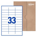 Address Labels, Shipping Labels & Stickers  Avery Australia With Regard To 33 Up Label Template Word