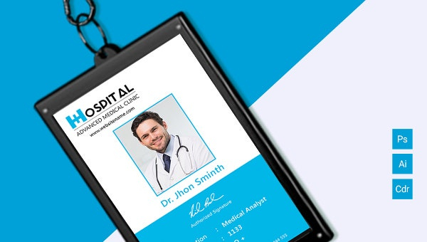Amazing Hospital Identity Card Template Download  Free & Premium  With Regard To Hospital Id Card Template With Hospital Id Card Template