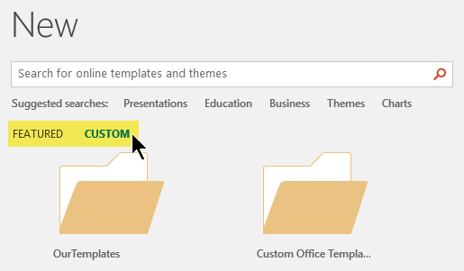 Apply a template to an existing presentation - Office Support With Powerpoint Replace Template Regarding Powerpoint Replace Template