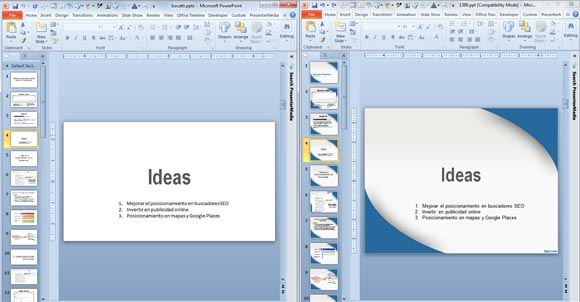Applying a Template to PowerPoint presentation Regarding Powerpoint Replace Template Throughout Powerpoint Replace Template