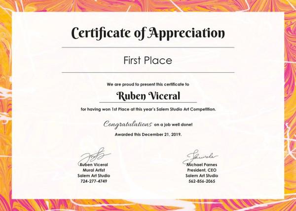 Appreciation-Certificate-templates-doc Intended For In Appreciation Certificate Templates Pertaining To In Appreciation Certificate Templates