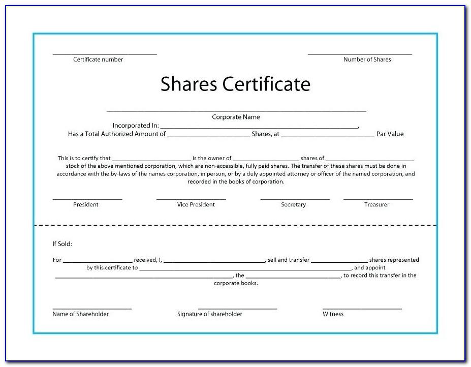 Australian Company Share Certificate Template  vincegray11 In Share Certificate Template Companies House In Share Certificate Template Companies House