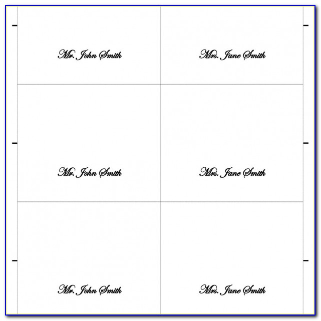 Avery Place Card Template 11 Per Sheet  vincegray20111 With Regard To Place Card Template 6 Per Sheet In Place Card Template 6 Per Sheet