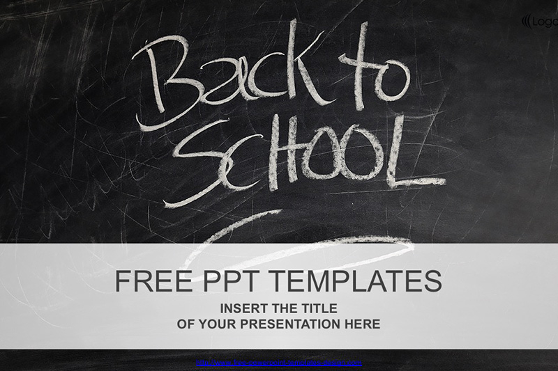 Back to School Free PowerPoint Template Intended For Back To School Powerpoint Template Pertaining To Back To School Powerpoint Template