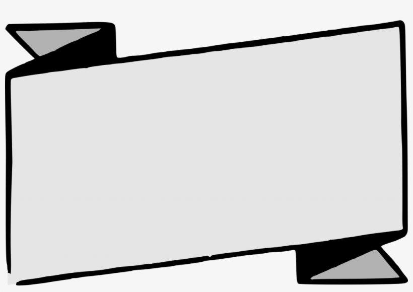 Banner Vector Black And White Png – Blank Banner Template Png  Throughout Free Blank Banner Templates