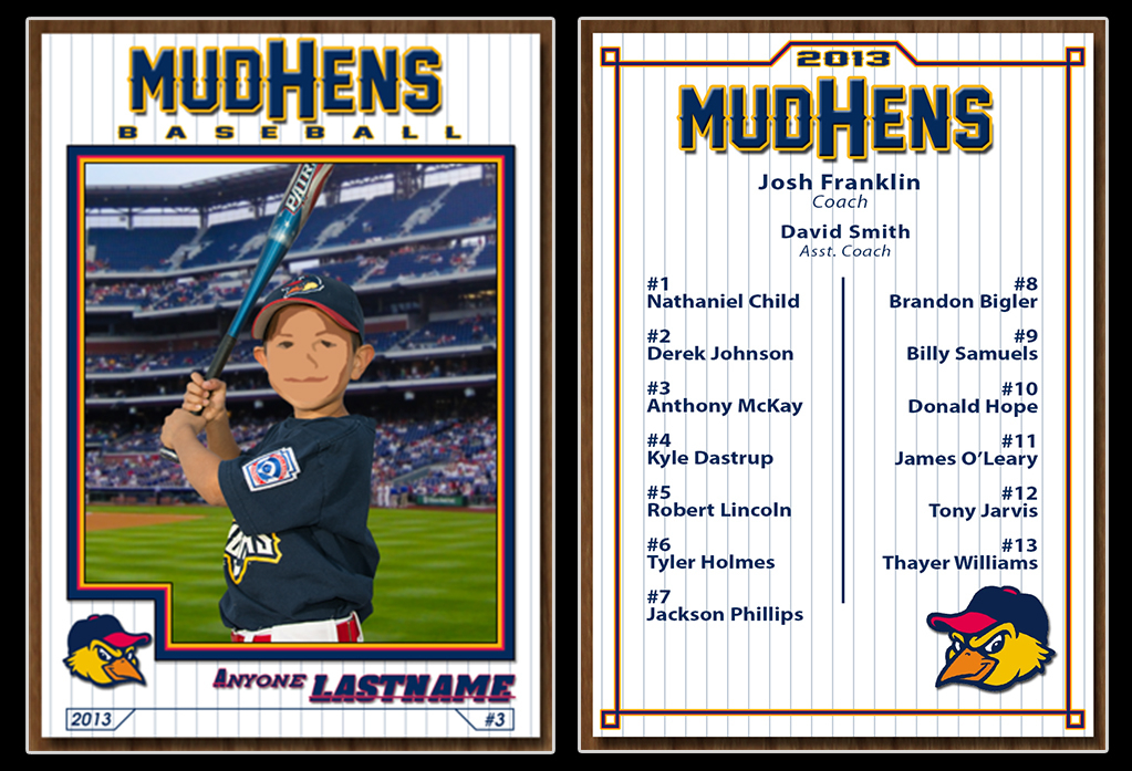 Baseball Card Template on Behance Within Baseball Card Template Psd Pertaining To Baseball Card Template Psd