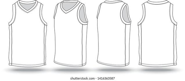 Basketball Jersey Template High Res Stock Images  Shutterstock Inside Blank Basketball Uniform Template In Blank Basketball Uniform Template