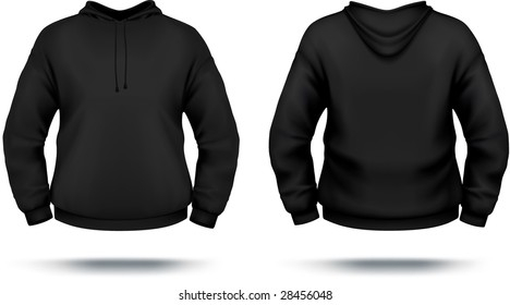 Black Hoodie Template High Res Stock Images  Shutterstock Inside Blank Black Hoodie Template Intended For Blank Black Hoodie Template