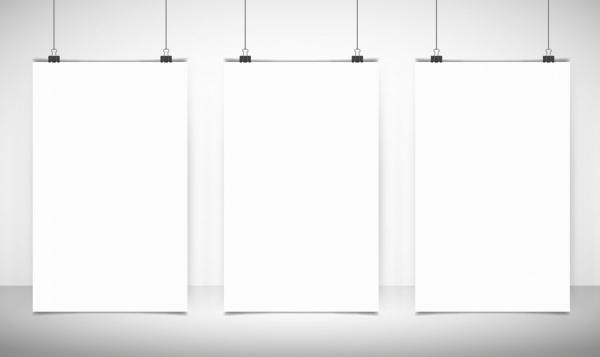 Blank banner templates white vertical mockup design Free vector in  Regarding Free Blank Banner Templates Regarding Free Blank Banner Templates