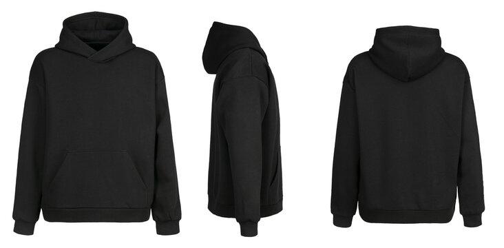 Blank black hoodie template Pertaining To Blank Black Hoodie Template