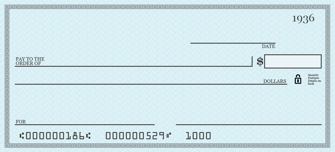 Blank Check Template Pdf - FREE DOWNLOAD Throughout Editable Blank Check Template Intended For Editable Blank Check Template