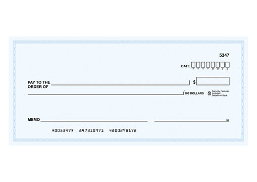 Blank Check Template photos, royalty-free images, graphics  Intended For Large Blank Cheque Template Intended For Large Blank Cheque Template